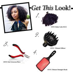 #ONYCHair Kinky Curly Collection I-Tips are back in stock!   Have a professional install the #ONYC I-Tips from the finished style #hair collection, and instantly add more volume to your natural kinky curly hair.  Also a great way to add highlights without coloring your natural hair! Shop USA Now >>> ONYCHair.com Shop UK Now >>> ONYCHair.uk