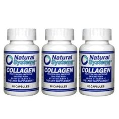 Natural Systems 3 PACK Collagen with Vitamin C 3x60 capsules Skin Hair Nails by Natural Systems. $13.05. Maintains elasticity and vitality of the hair.. Dietary Supplement helpful for restoring, rejuvenating and keeping the softness of the skin.. It strengthens blood vessels and plays a role in tissue development.. 100% Natural, antioxidant, may reduce cholesterol levels and blood pressure.. Promotes and accelerates the healing of wounds and burns. Required for the re...