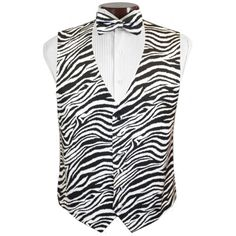 cbfef3813210 Bold Zebra Tuxedo Vest and Tie Set Wedding Men, Wedding Suits, Wedding  Things,