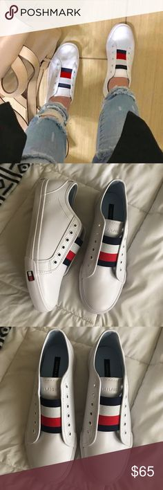 New Tommy Hilfiger sneakers New never worn Tommy Hilfiger sneakers size 7.5. Tommy Hilfiger Shoes Sneakers