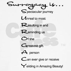 #Surrogacy is.... this! Check this out cool acronym.