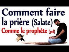 Comment faire la priere (la salate) comme le prophète (psl) Apprendre l'islam en Francais - YouTube Ablution Islam, Hadith, Religion, Science, Youtube, Islamic, Affirmations, Disney, Learn To Read