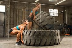Tire flips look tough and demand every ounce of strength you can muster. They're definitely not for everybody, but if you earn the right, your reward will be a new level of power and athleticism!