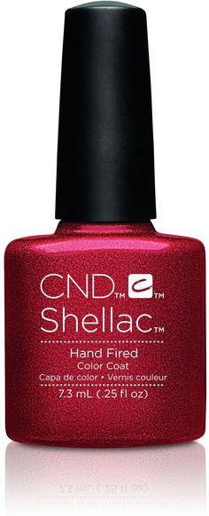 CND - Shellac Hand Fired (0.25 oz)