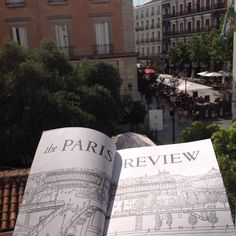 The Paris Review in Plaza del Angel, Madrid. On Coronation Day!