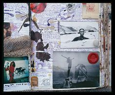 Peter Beard via Culture-keeper Peter Beard, Artist Journal, Artist Sketchbook, Book Journal, Happy Journal, Karen Blixen, Kunstjournal Inspiration, Sketchbook Inspiration, Sketchbook Ideas
