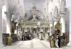 Chapel of the Convent of St. Catherine on Mount Sinai, February 21st 1839, plate 112 from Volume III of The Holy Land, engraved by Louis Haghe 1806-85 pub. 1849 David Roberts   Oil Painting Reproduction   1st-Art-Gallery.com www.1st-art-gallery.com600 × 415Buscar por imagen David Roberts:Chapel of the Convent of St. Catherine on Mount Sinai, February 21st 1839, plate 112 from Volume III of The Holy Land, engraved by Louis Haghe 1806-85 pub. 1849 louis haghe artist - Buscar con Google