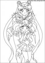 Sailor Moon coloring pages on Coloring-Book.info