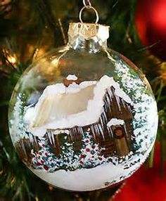 hand-painted christmas ornaments - Yahoo Image Search Results