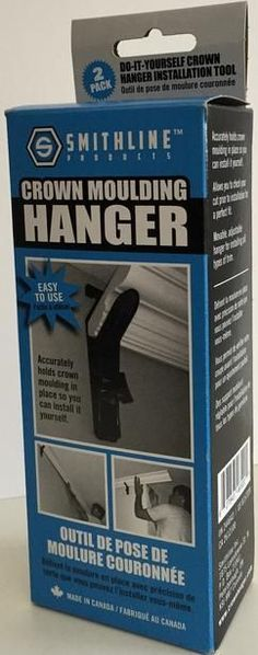 Crown Hanger By Smithline inc. - Installing Crown Molding, Crown Moulding Hanger, Crown Moulding Installation