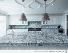 15 Different Granite Kitchen Countertops 15