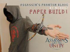 ACUnity Phantom Blade the paper built