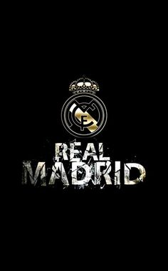 Real Madrid FC Logo Black Mobile Wallpaper HD - http://wallucky.com/real-madrid-fc-logo-black-mobile-wallpaper-hd/
