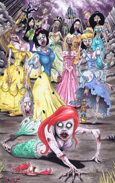 Happily Ever Afterlife…zombies and Disney- two of my favourite things combined in an epic way