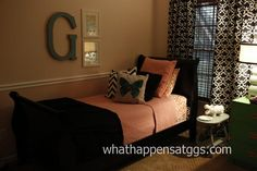 Pink Guest Room