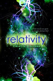 Relativity     Relativity  by Cristin Bishara  Book: Stan Alone  Publisher: Walkers Children  Pub Date: September 2013  Genre: Young Adult  Format: Print  Source: Borrowed  Book Links:GoodreadsAmazon Book Depository  There are so many moments Ruby Wright wishes she could change. The moment her dad uprooted her from California to live in backwoods Ohio with their new stepfamily. The moment she moved away without telling her best friend George she loved him. The moment a car accident ended her…