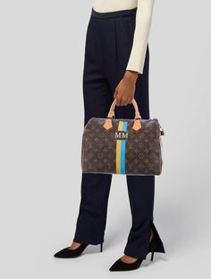 Louis Vuitton Mon Monogram Speedy 30 - Handbags - LOU196798 | The RealReal Louis Vuitton Designer, Louis Vuitton Handbags, Louis Vuitton Speedy Bag, Purses And Handbags, Louis Vuitton Monogram, Louis Vuitton Damier, Leather Handbags, Leather Bags Handmade, Humor