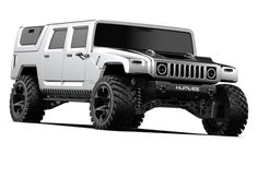 Its been a long fourteen years since the infamous Hummer went out of production. The was an immensely [& More The post Here& What A Modern Hummer Would Look Like appeared first on Grand Tour Nation. New Hummer, Hummer Truck, Hummer H1, Jeep Pickup, Pickup Trucks, Truck Bed Caps, Electric Truck, Classy Cars, Four Wheel Drive