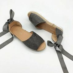 COLOR Espadrille Sandals, Espadrilles, Heeled Mules, Peep Toe, High Heels, Lace Up, Pairs, Shoes, Color