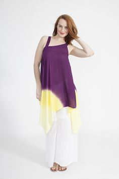 Global Groove Tunic in Sunny Plummy