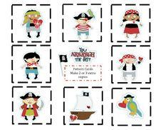 Preschool Printables: Pirate Preschool Pirate Theme, Pirate Activities, Preschool Themes, Preschool Printables, Jack Le Pirate, Pirate Maps, Creative Party Ideas, Pirate Treasure, Card Patterns