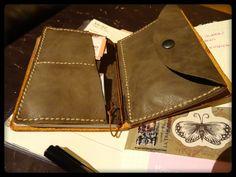 Traveler's Notebook, Passport with wallet insert   Flickr - Photo Sharing!