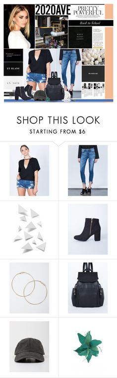 """""""Back to school with 2020AVE"""" by maria-polyvore ❤ liked on Polyvore featuring Bear Dance, H&M, Cello, WALL, Ana Accessories, Victoria Beckham, Vous Etes, Made of Me and BTSx2020AVE"""