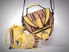 Design Award Kork: Ein Hingucker, diese Kameratasche! Vor allem mit den dazugehörigen Objektivtaschen.
