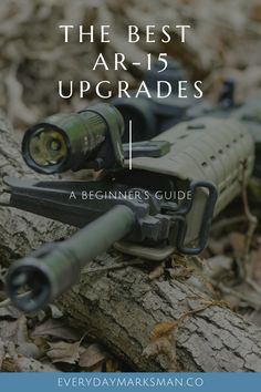 The is a great rifle, and there are a lot of new owners out there wondering how they should upgrade it to be even better. This is my take on the best upgrades for beginners. Rifle Accessories, Shooting Equipment, Ar Platform, Good Times, Wwe, Competition, Guns, Awesome, Weapons Guns