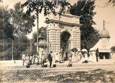 Buenos Aires. Entrada al Jardín Zoológico, fines del siglo XIX.
