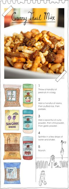 curry trail mix