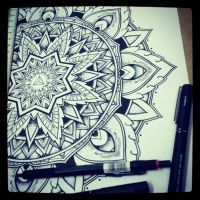 Solstice Mandala Project Day002 by OrgeSTC