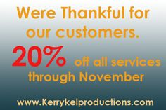 We Are Thankful For Our Customers - Services, Other - Fort Worth, Texas, United States 891370