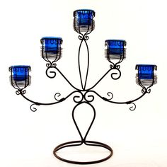 A Few Well Place Candelabras To Give A Soft Glow For A Relaxed Mood