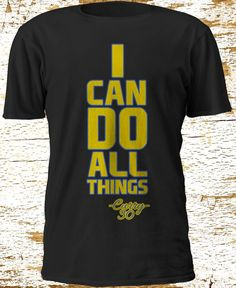 Curry The Winning Team I can do all things we're not going home Black T'shirt #Gildan #BasicTee