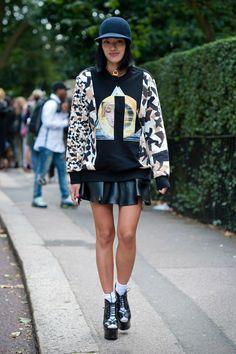 Glimpse at the London Fashion Week Spring 2014 - Tiffany Hsu