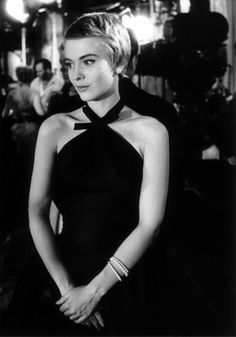 Jean Seberg in 'Bonjour Tristesse', 1958 - She's wearing a stunning LBD designed by Givenchy.