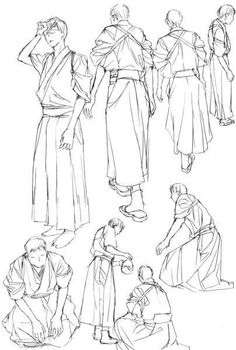 Pose Reference, Drawing Reference, Drawing Clothes, Yukata, Drawing Poses, Anime Outfits, Traditional Outfits, Figure Drawing, Fashion History