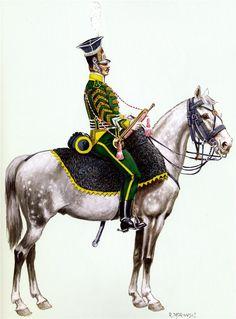 Vistula Legion Trumpeter 7th polka.1812