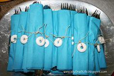 Tropical Bridal Shower for Destination Wedding - decor