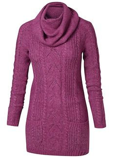 Fat Face Snood Neck Tunic Jumper