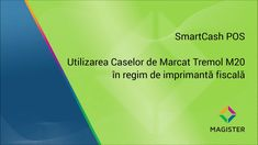 Noua generatie de case de marcat provenind de la compania bulgara #Tremol, sunt acum integrate cu programul #SmartCash POS. #Magister #casademarcat Pos, Software, Video, Chart