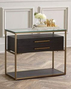 Shop Lina Nightstand from Hooker Furniture at Horchow, where you'll find new lower shipping on hundreds of home furnishings and gifts. Painted Bedroom Furniture, Loft Furniture, Shelf Furniture, Brown Furniture, Hooker Furniture, Online Furniture, Furniture Makeover, Living Room Furniture, Furniture Design
