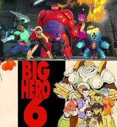 """Post """"ORIGEN DE BIG HERO 6: ALPHA FLIGHT"""". http://www.dynamicculture.es/origen-de-big-hero-6-alpha-flight/  #BigHero6"""