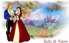 Princess Belle and Prince Adam | RionaFury Disney Couples