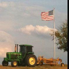 An American farm