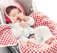 Baby blanket coco vichy from Wallaboo