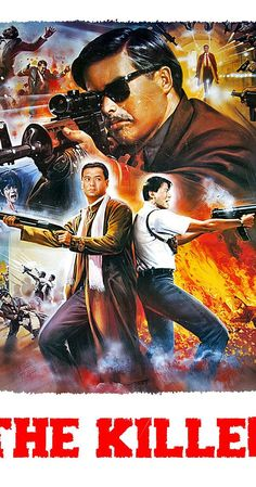 Directed by John Woo. With Yun-Fat Chow, Danny Lee, Sally Yeh, Kong Chu. A disillusioned assassin accepts one last hit in hopes of using his earnings to restore vision to a singer he accidentally blinded, only to be double-crossed by his boss. Internet Movies, Movies Online, All Movies, Movies And Tv Shows, Iconic Movies, Hk Movie, John Woo, Crime, The Killers