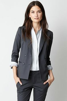 15 Ultra-Chic Blazers For Work And Play #refinery29 | Daryl K for Steven Alan Richard Jacket
