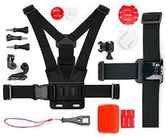 BLACK FRIDAY DEAL: Kit d'accessoires complet pour PNJ AEE MAGICAM SD18, SD19, SD21 / SD21G, SD23 (Naked) & 23G, et SD100 – caméras de sport…